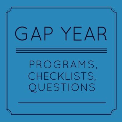 GAP YEAR RESOURCES